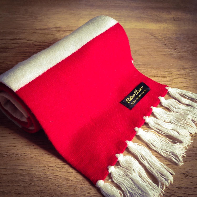 65db6e7126a2c Sheffield United Luxury Merino Wool Striped Football Scarf