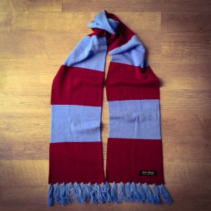 4e2d165643697 Southampton Luxury Merino Wool Red and White Striped Football Scarf.  £34.95. Add to Wishlist loading