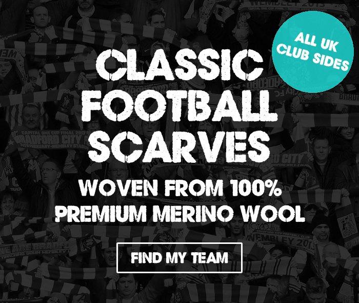 Luxury Football Scarves