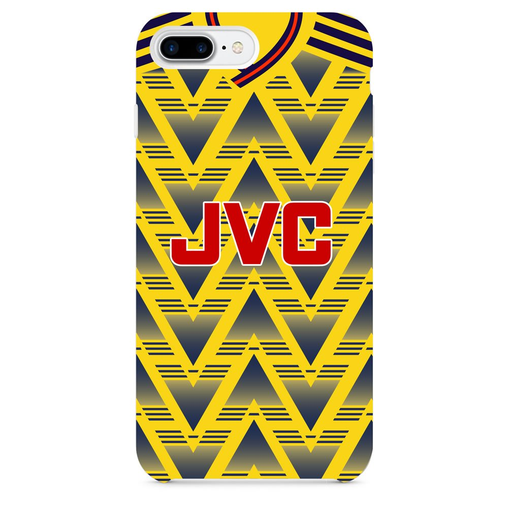 size 40 fc50b 41f6d Arsenal 1991 Away iPhone & Samsung Galaxy Phone Case