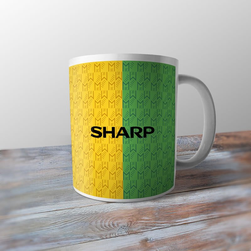 b701cd6d9fe Manchester United 1992 Football Shirt Retro Ceramic Coffee Mug   Cup